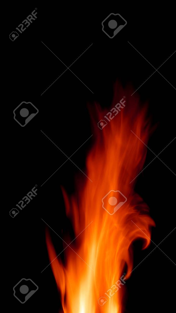 fire-in-the-night Stock Photo - 18180007