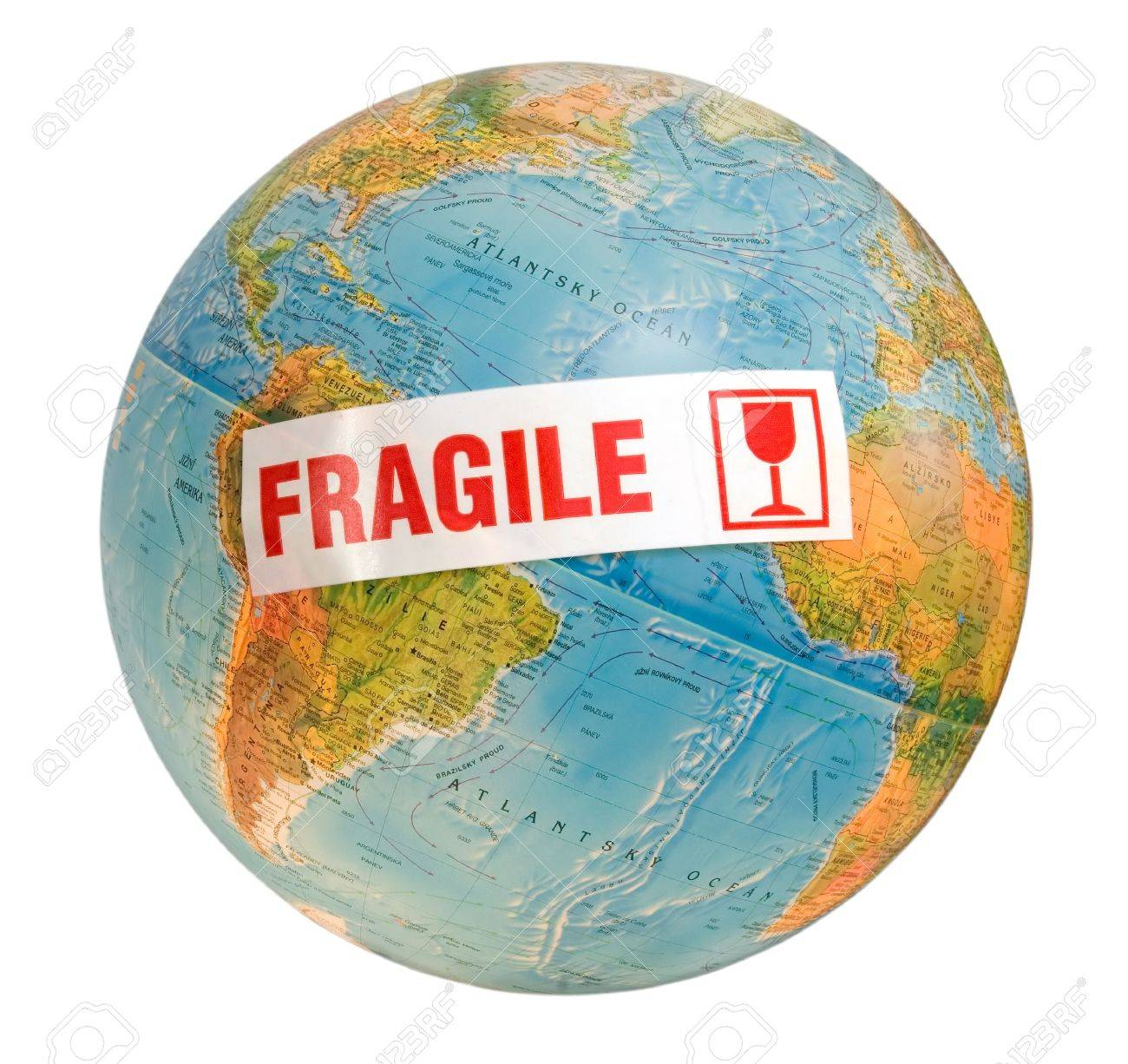 Fragile World Stock Photo, Picture And Royalty Free Image. Image ...
