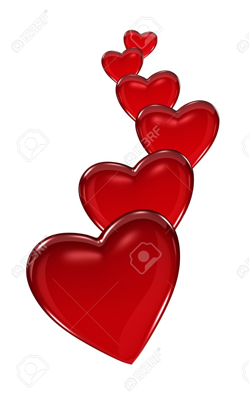 Hearts Growing Vertical Stock Photo - 6431503