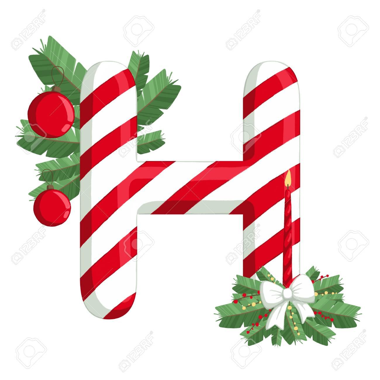 Christmas Alphabet.Stock Illustration