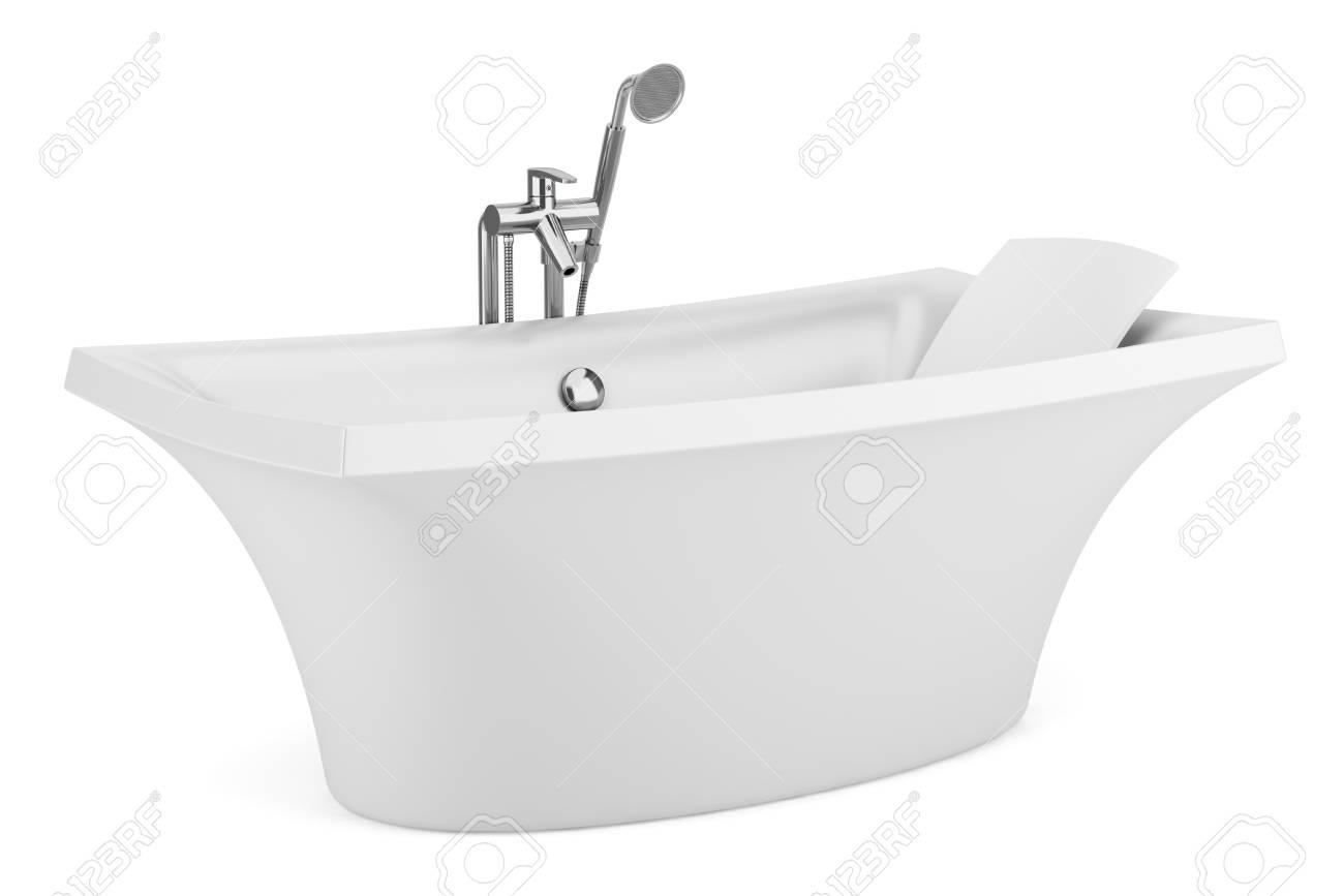 modern bathtub isolated on white background Stock Photo - 16927943