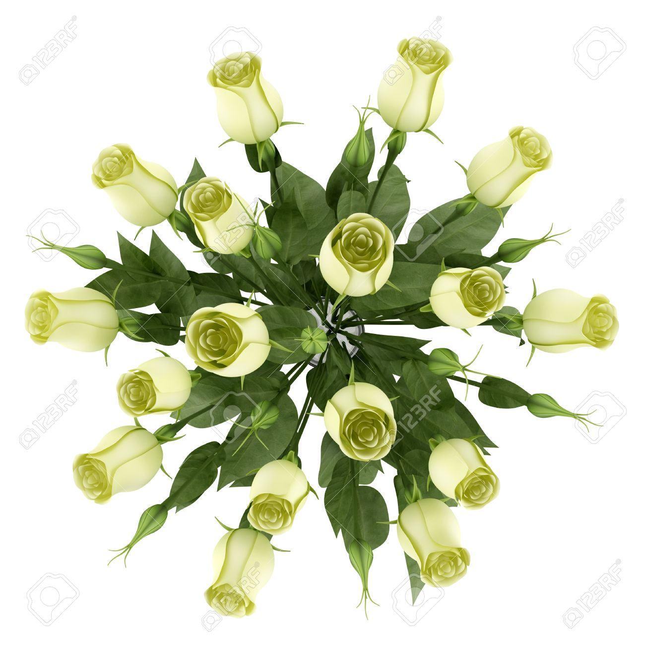 Top view of yellow eustoma flowers in glass vase isolated on top view of yellow eustoma flowers in glass vase isolated on white background stock photo reviewsmspy