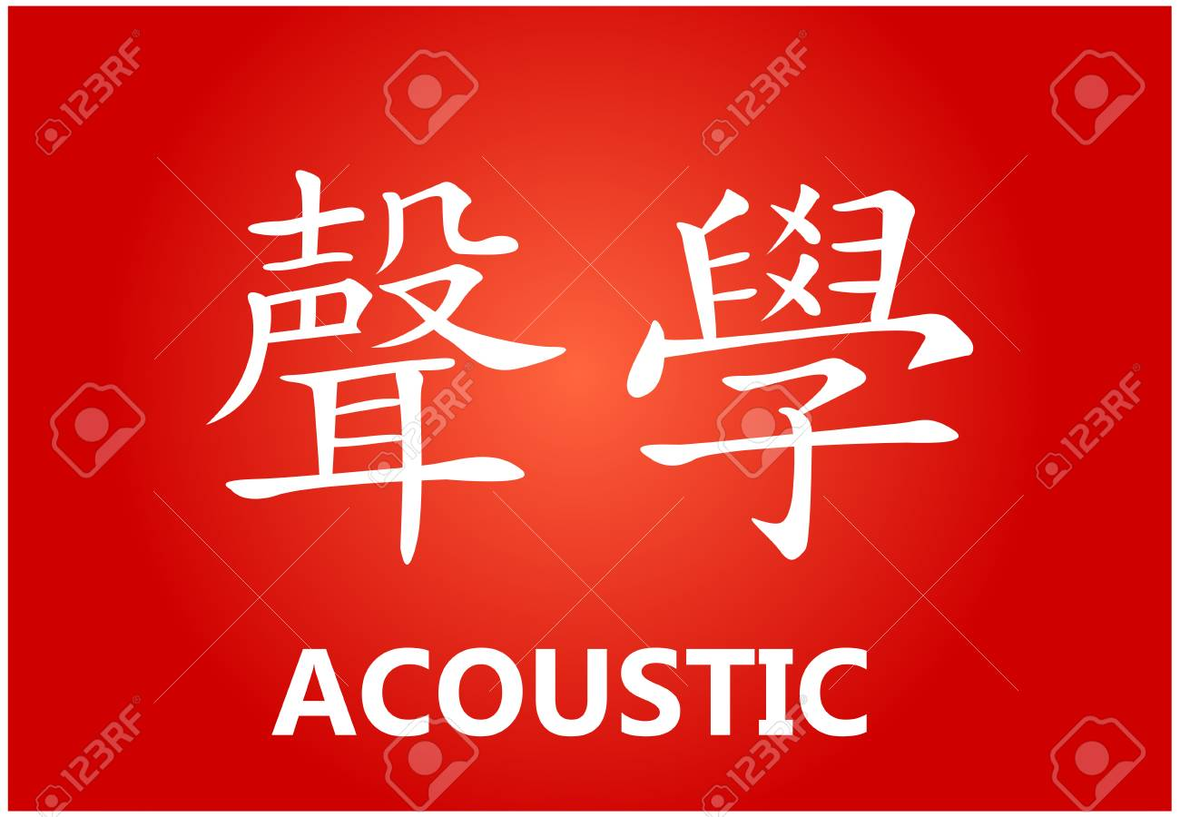 Chinese Characters With Meanings Royalty Free Cliparts Vectors And