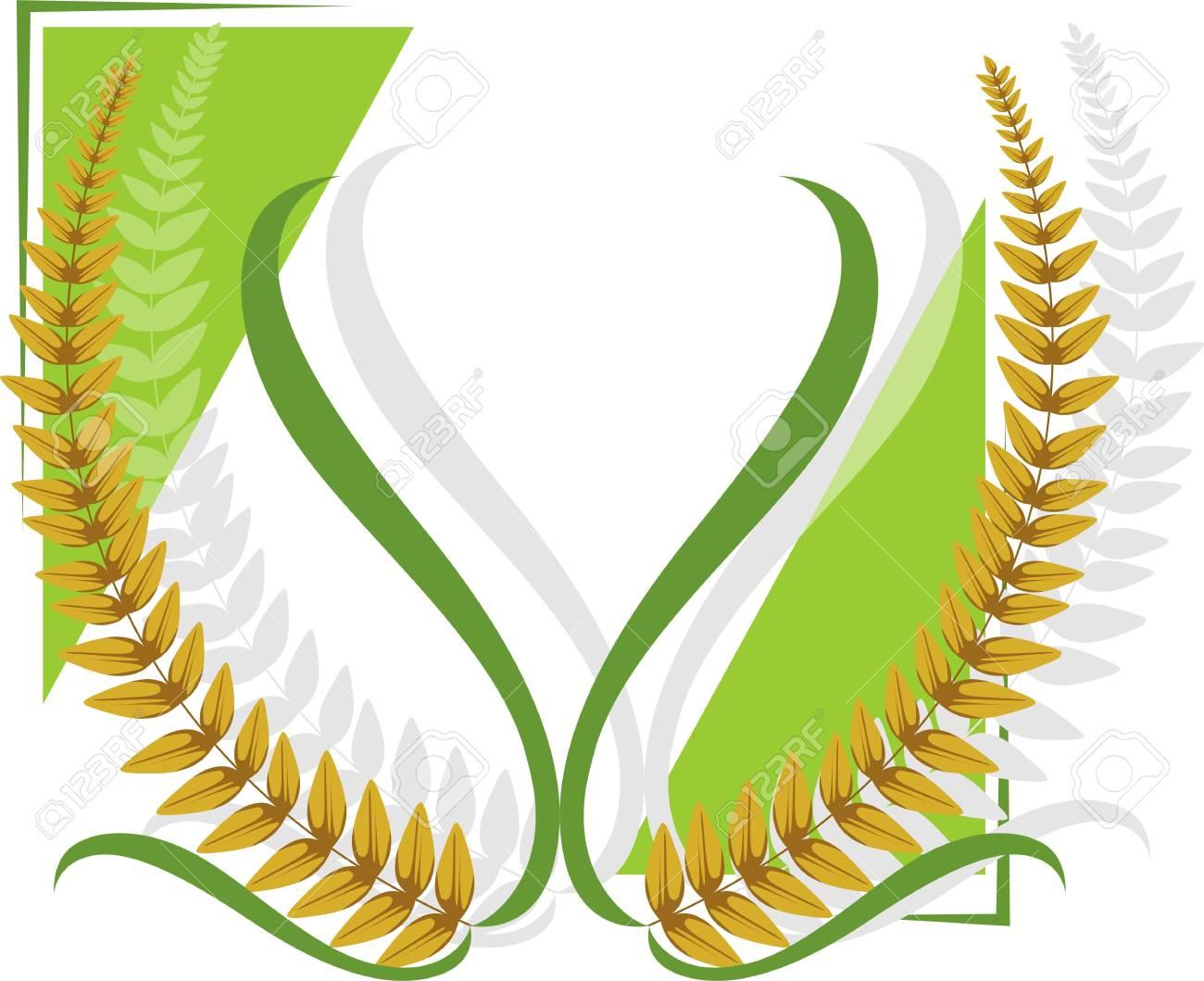 Illustration of a wheat Stock Illustration - 3919432
