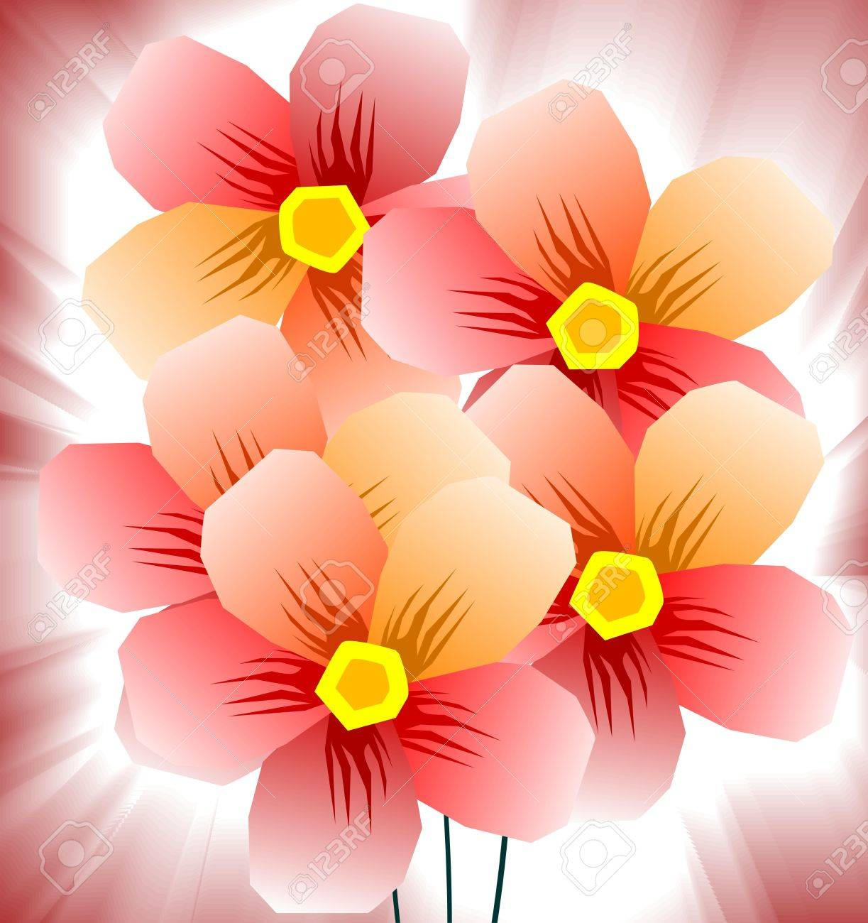 The artist is experiencing the beauty of a bunch of flowers kept stock photo the artist is experiencing the beauty of a bunch of flowers kept in a bright background izmirmasajfo