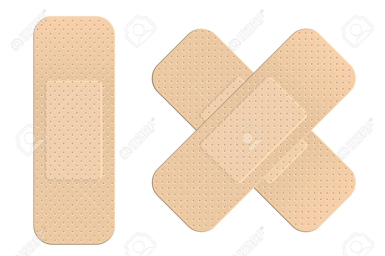 First aid plasters Stock Vector - 5012901