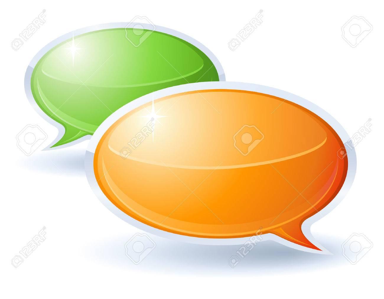 Speech bubbles Stock Vector - 5414181