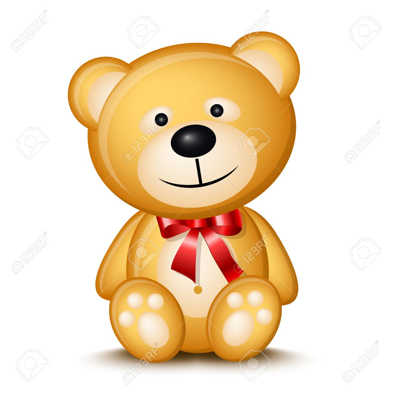 Little Teddy Bear Royalty Free Cliparts, Vectors, And Stock ...