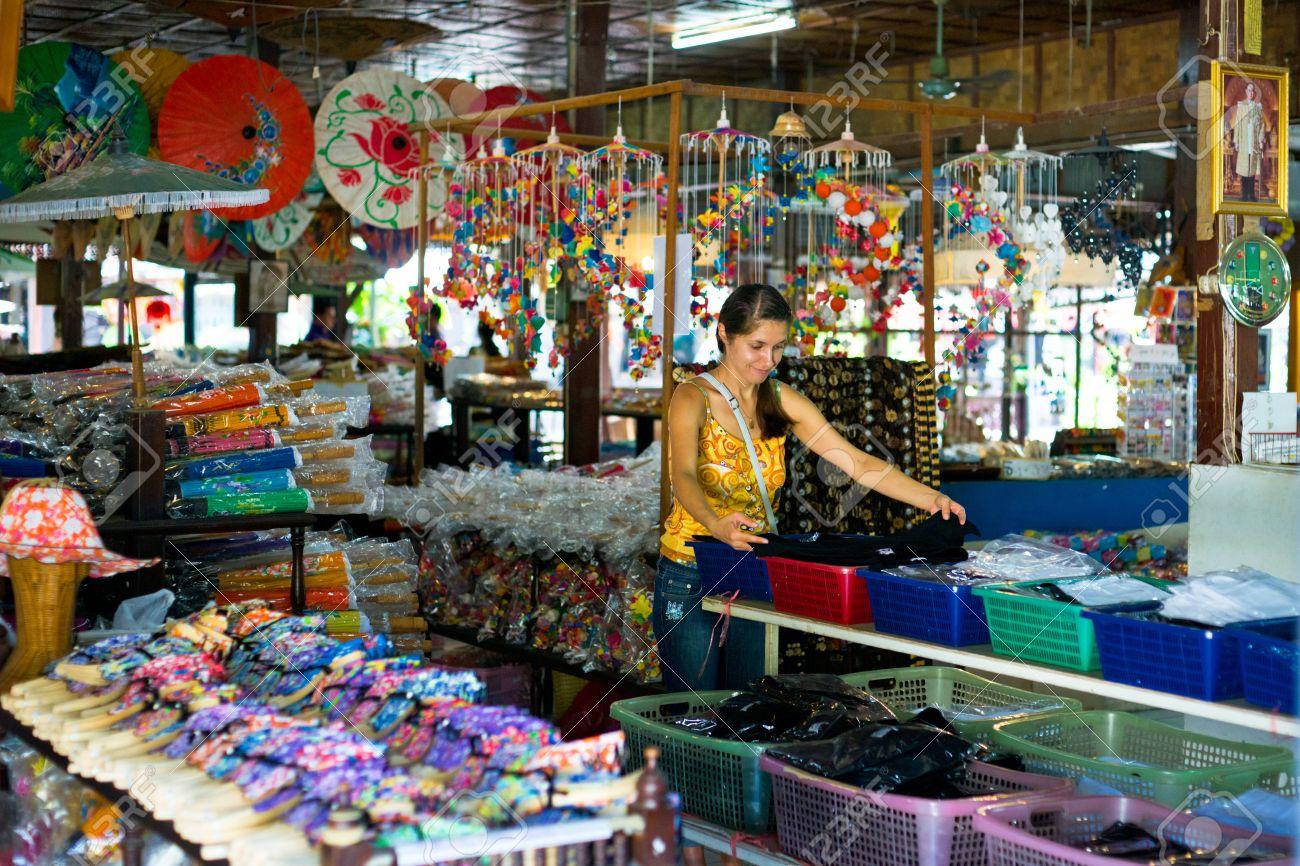 Bo Sang Village Chiang Mai Province Thailand 9 January 2012