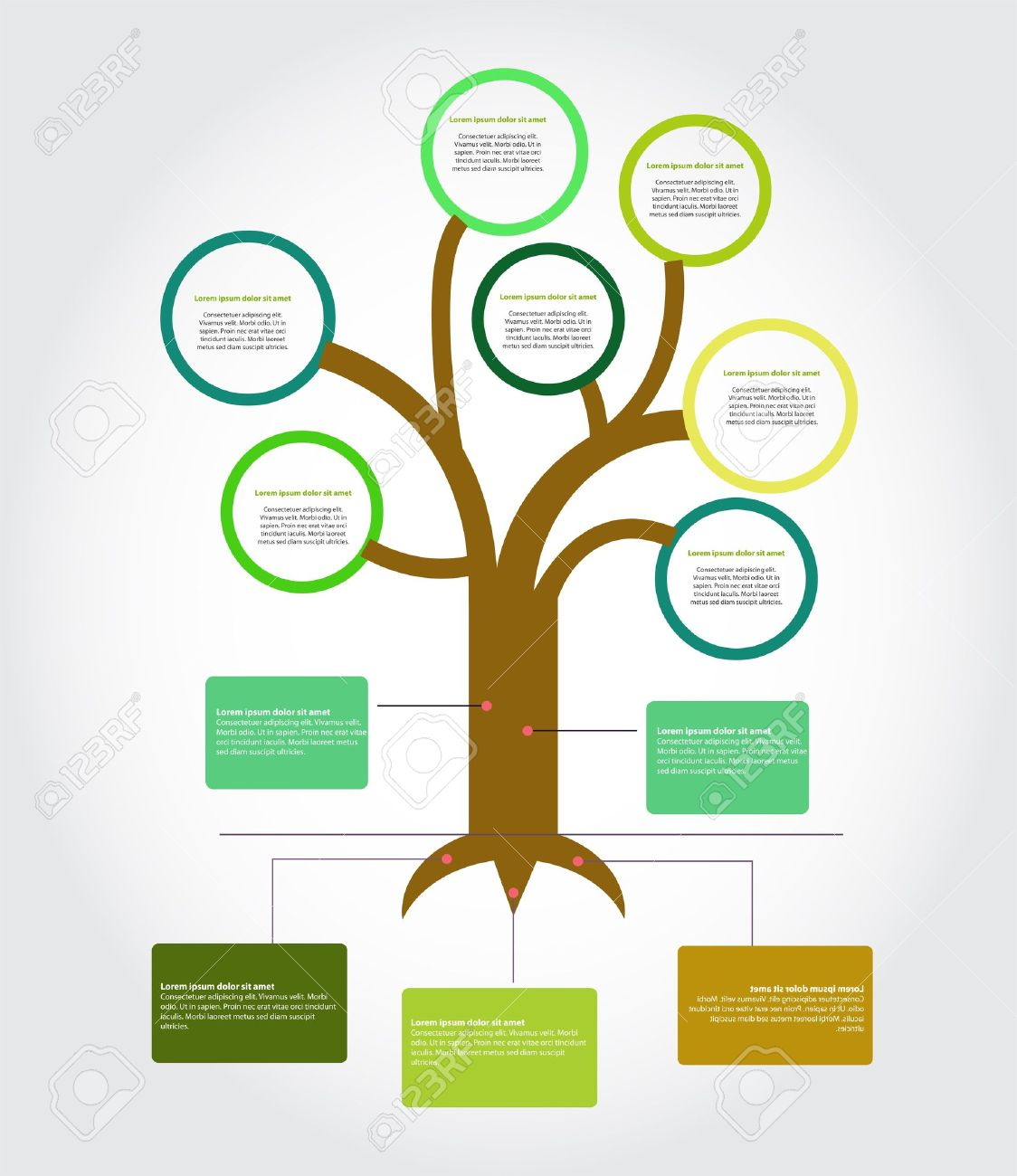 Tree Diagram Royalty Free Cliparts Vectors And – Tree Diagram Template
