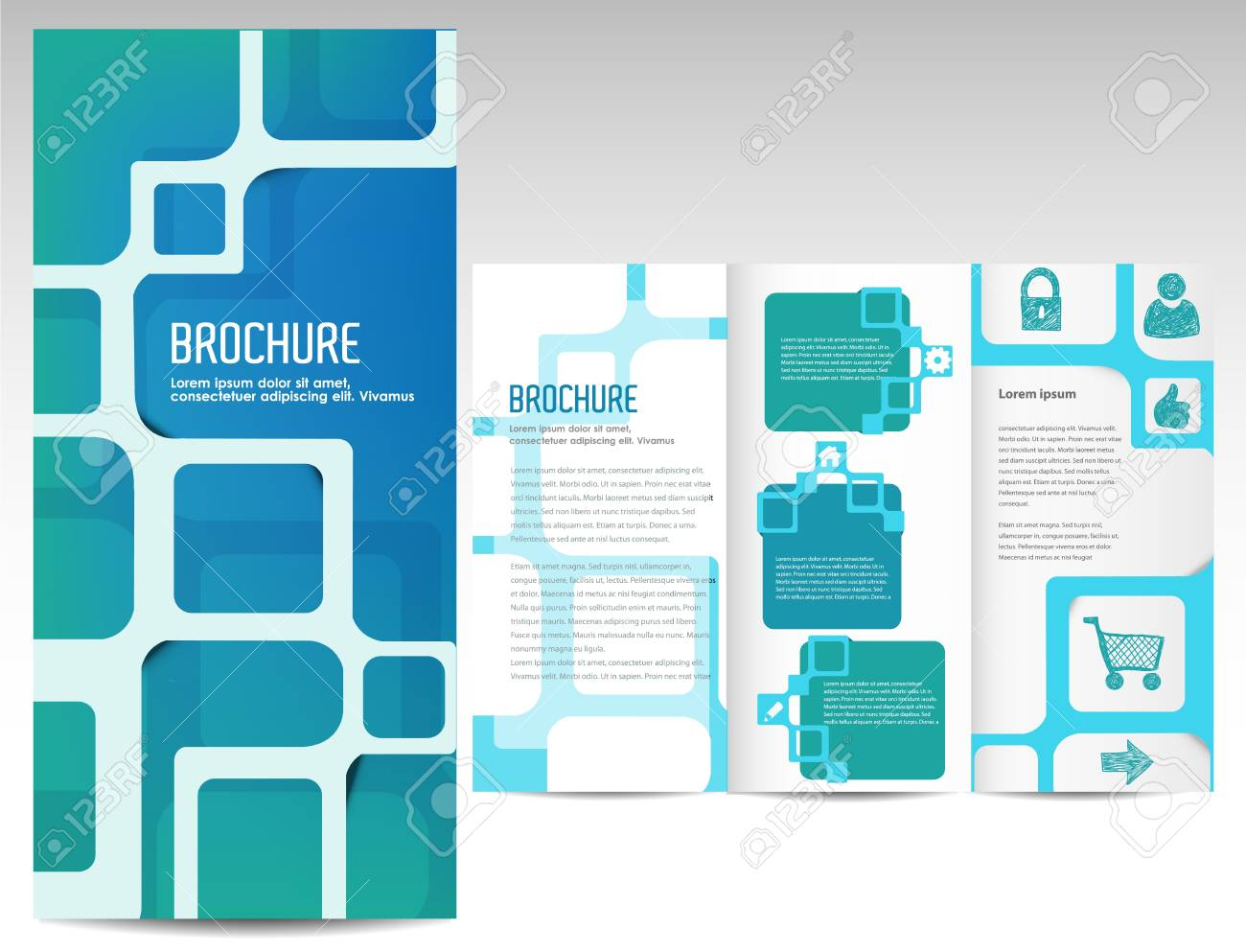 Tri fold business brochure template royalty free cliparts vectors tri fold business brochure template stock vector 14898206 wajeb Choice Image