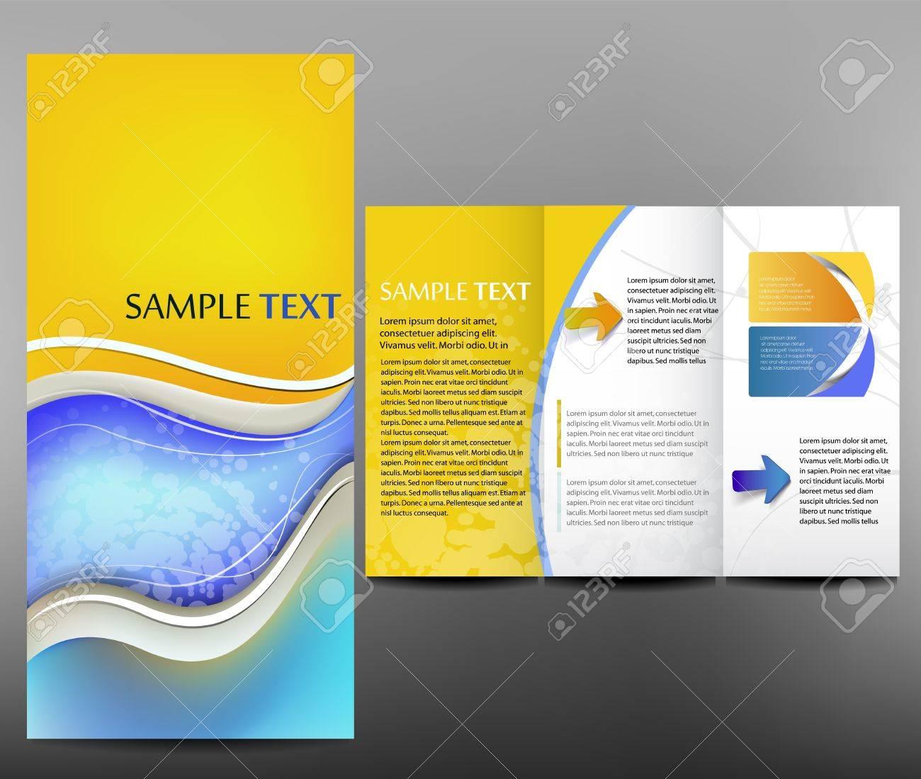 Corporate business design, brochure Stock Vector - 15334033