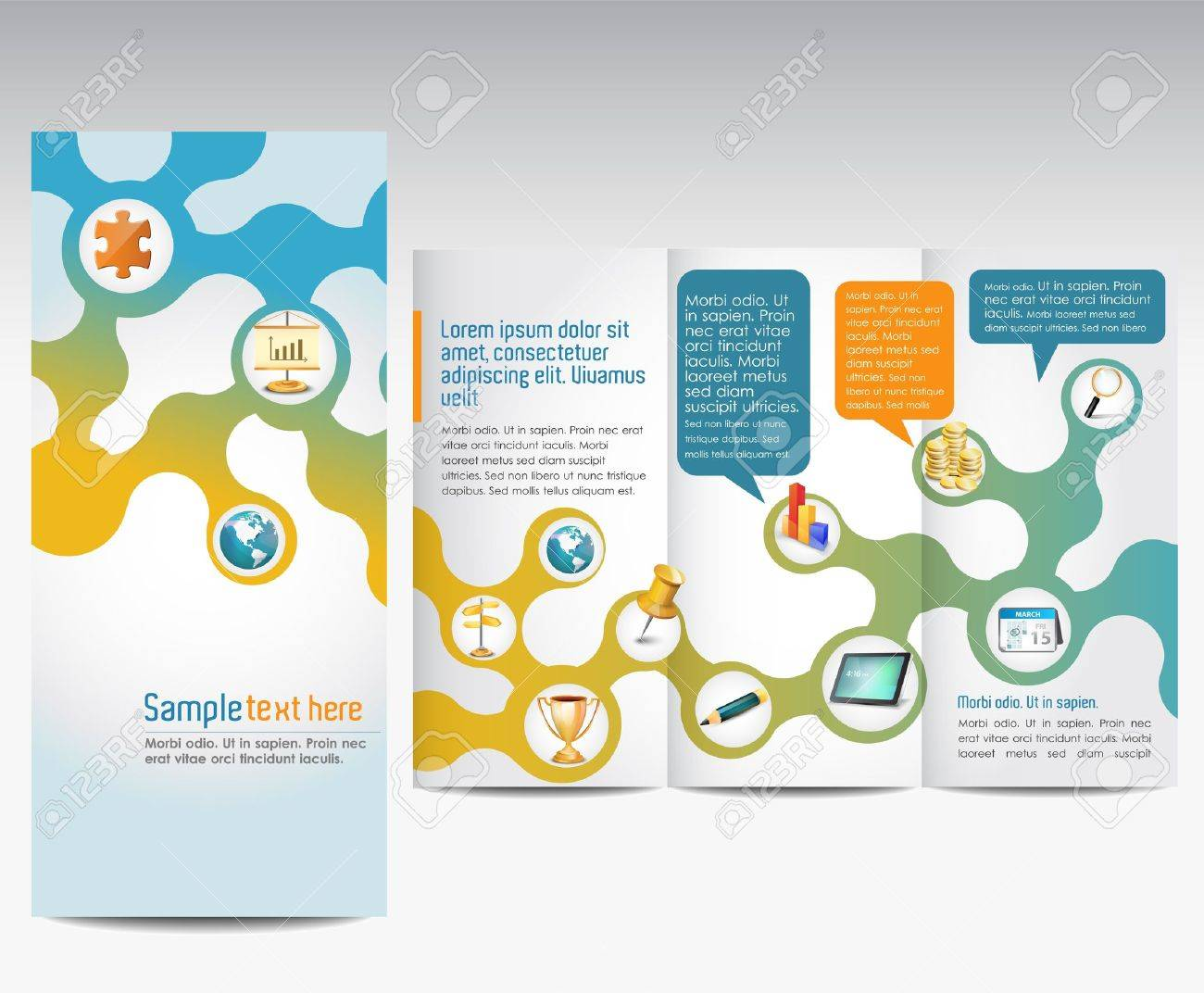 Templates For Advertising Brochure Royalty Free Cliparts Vectors – Advertising Brochure Template