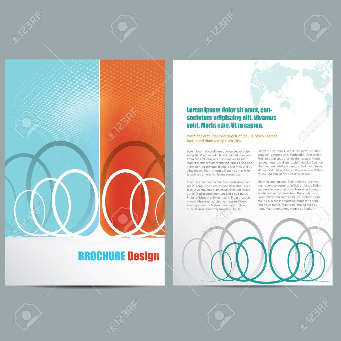 Business Brochure Stock Vector - 20353809