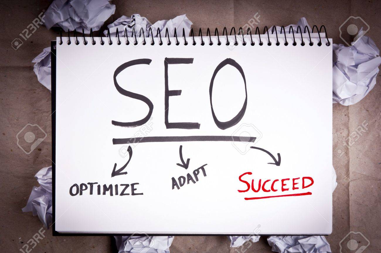 SEO - search engine optimization - concept for adaption and success Stock Photo - 14437731
