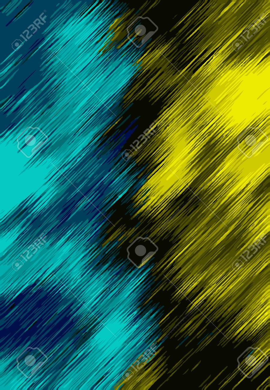 Blue Black And Yellow Painting Texture Abstract Background Stock Photo Picture And Royalty Free Image Image 61703418