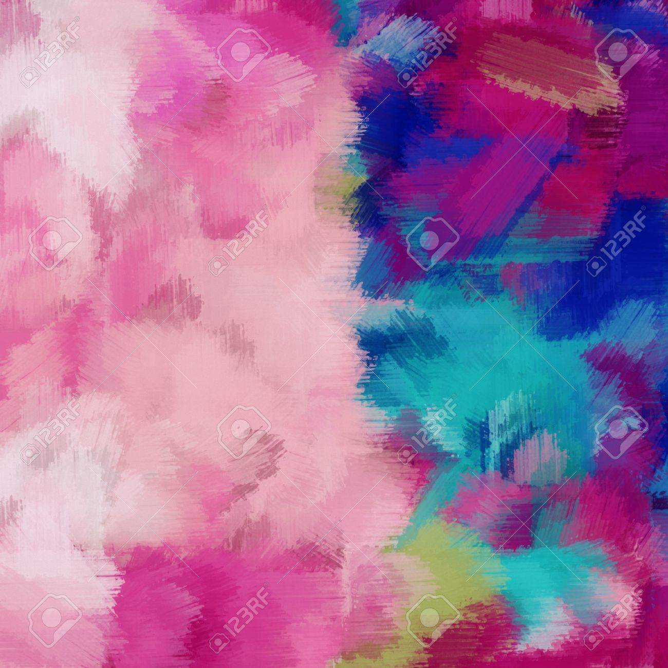 Pink Dark Blue Red And Blue Painting Abstract Background