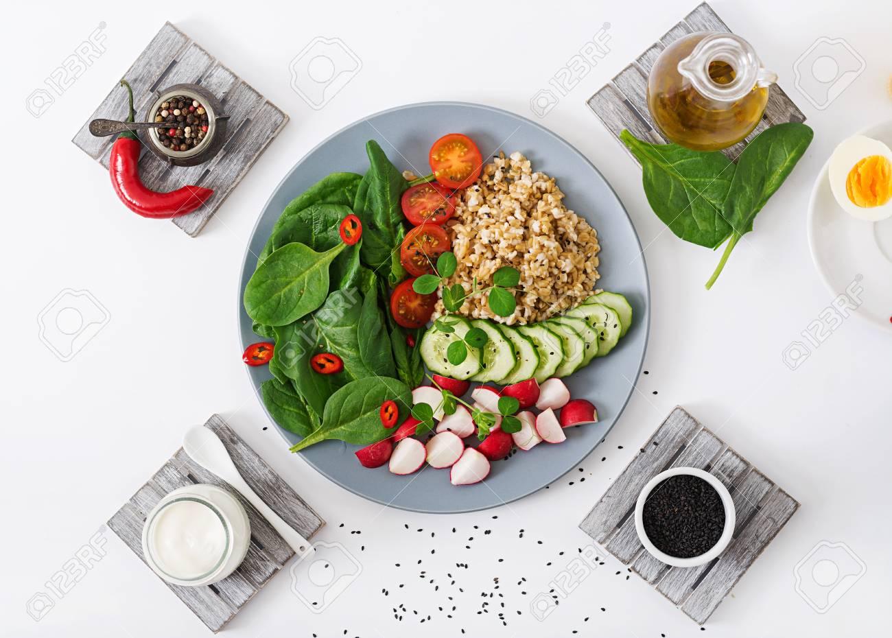 Veganes Diätmenü