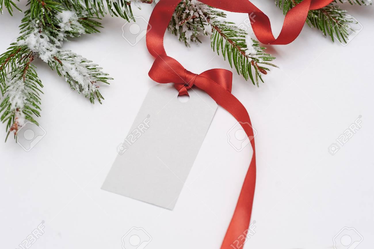 Venta De Tarjetas De Invitación Para Navidad Con Un Lazo Rojo