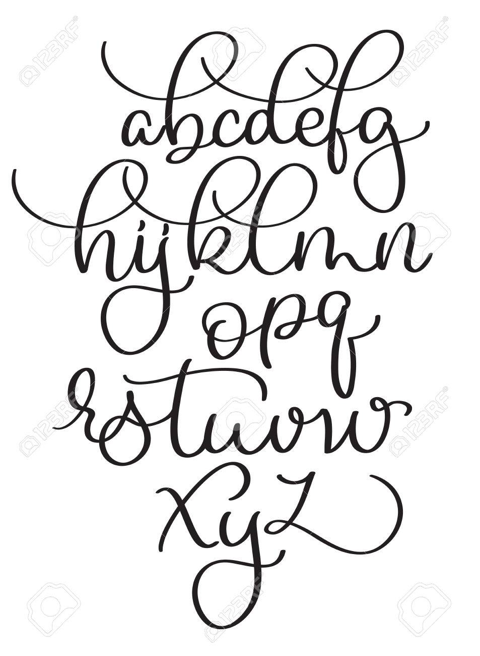 Großartig Kalligraphie Papier Vorlage Galerie - Beispiel ...