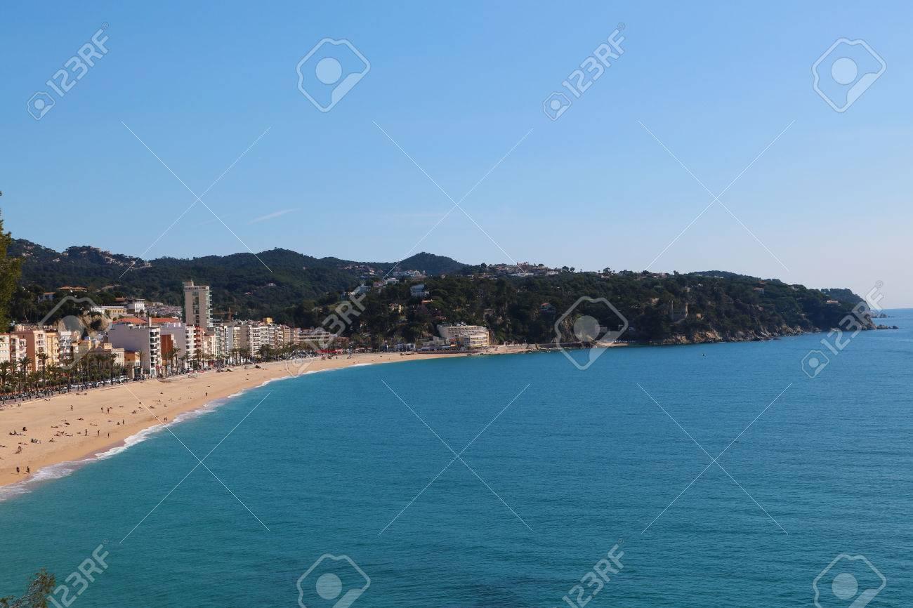 Spanish coast  beach front Stock Photo - 79672549