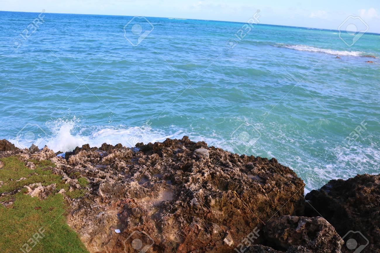 Holguin Cuba ocean view Stock Photo - 92366182