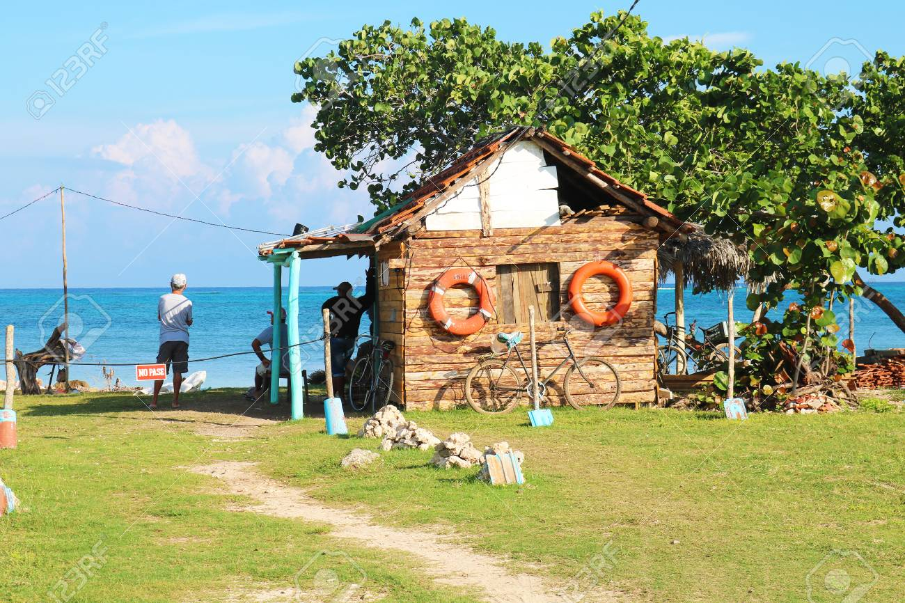 Old Cuban shed Stock Photo - 92814286