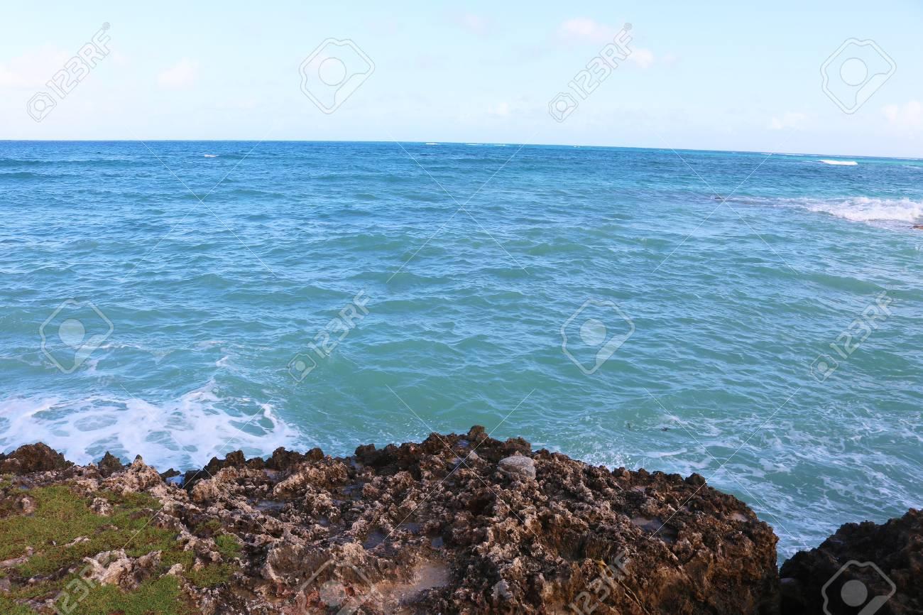 Caribbean  sea Cuba Stock Photo - 92814292