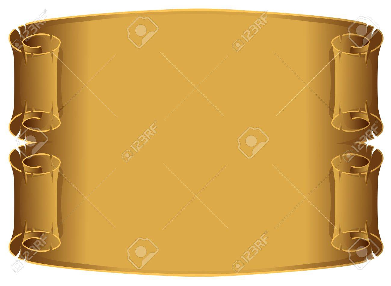old parchment background Stock Vector - 3587550