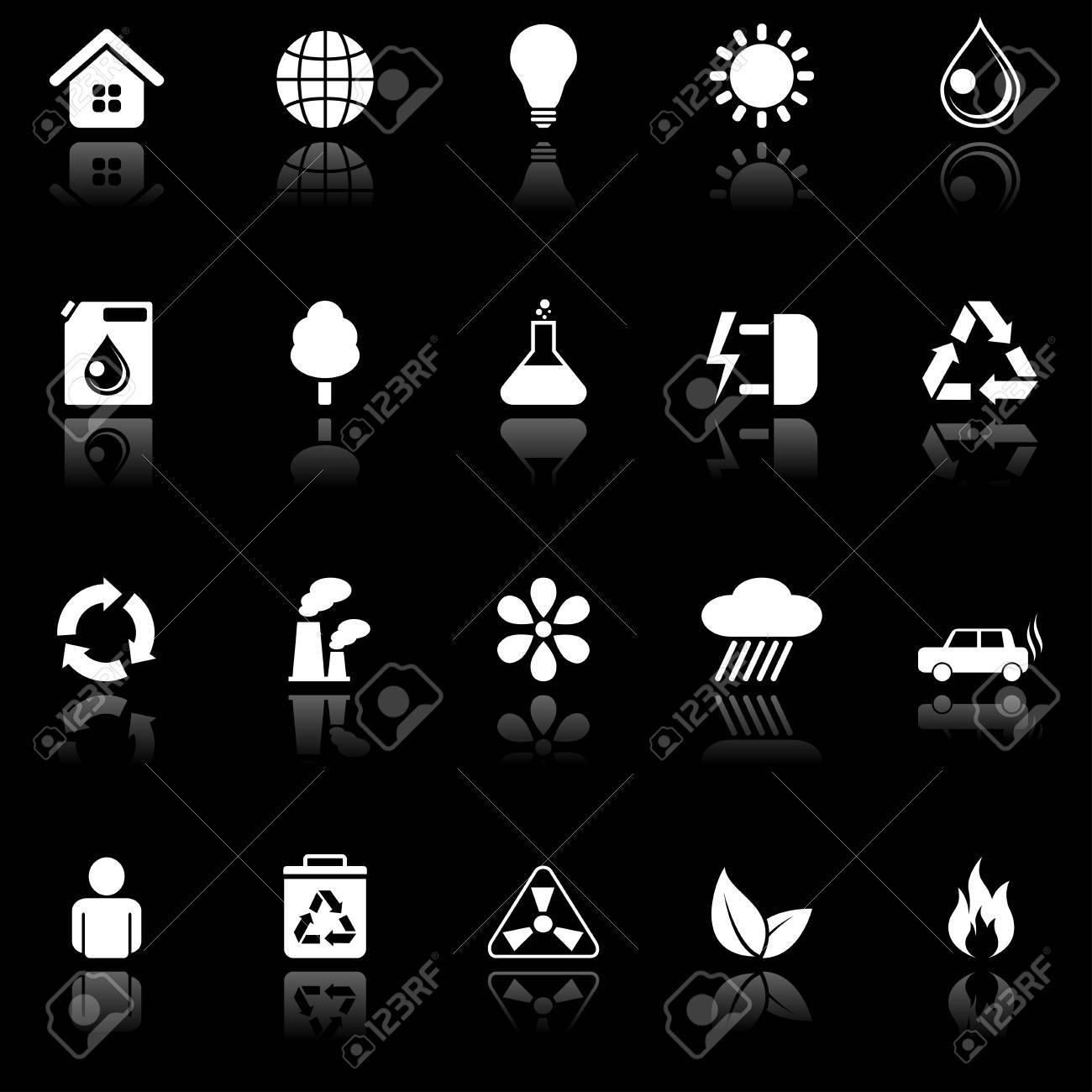 Environmental icons. Stock Vector - 6611556