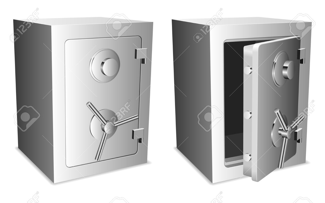 Safes. Stock Vector - 8036447