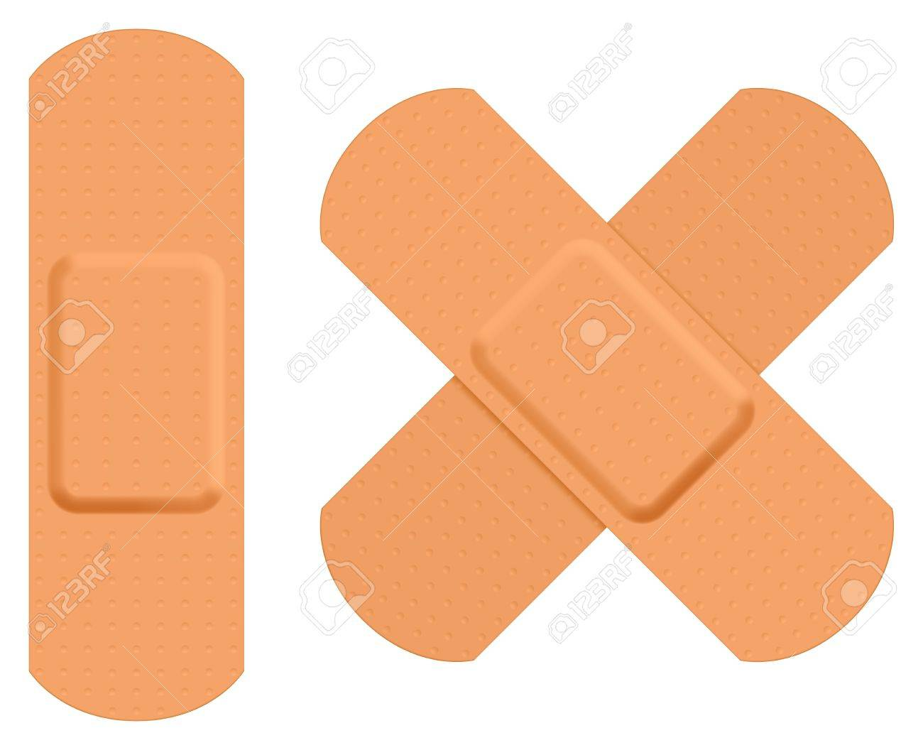 First aid plaster. Stock Vector - 12063115