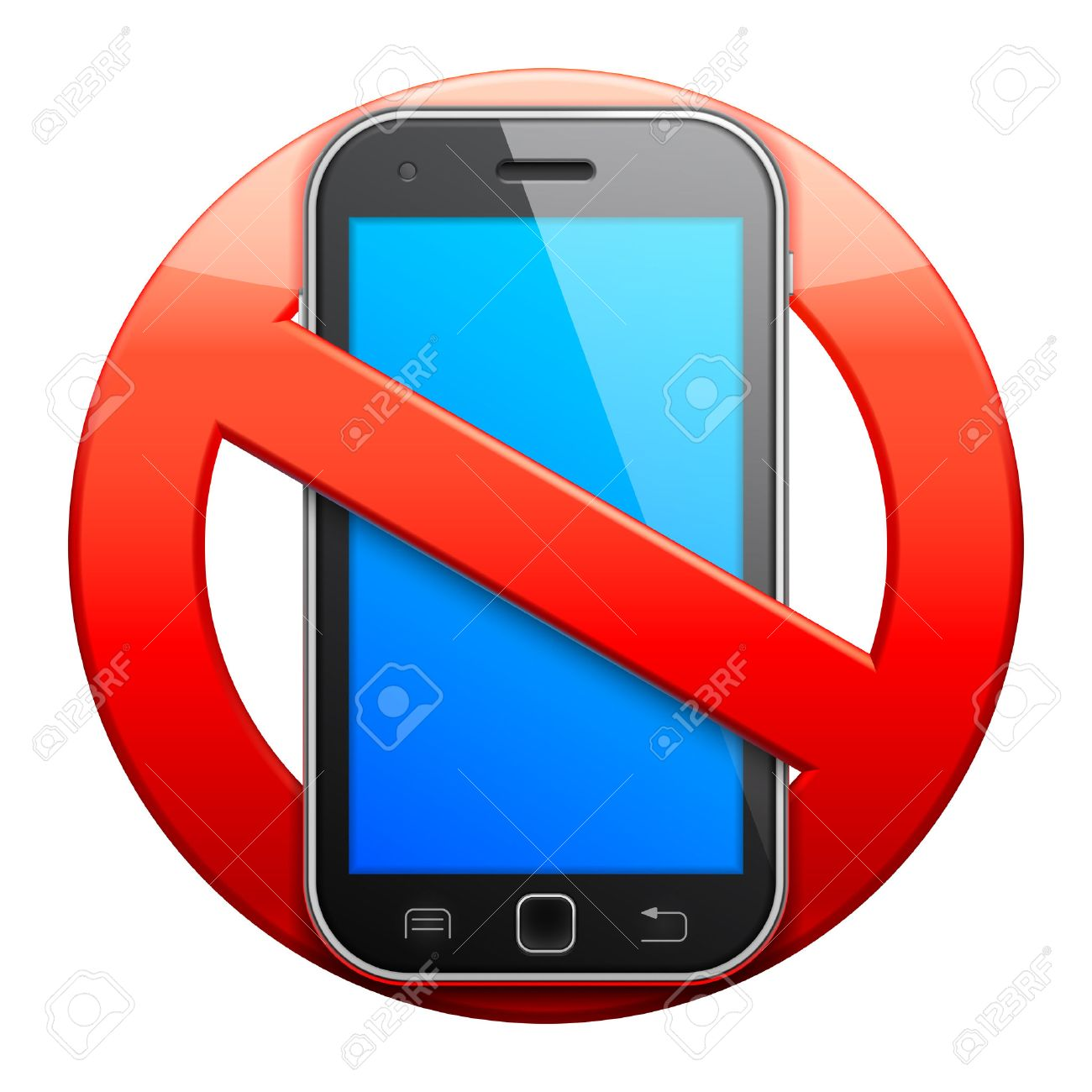 No cell phone sign. - 33088402