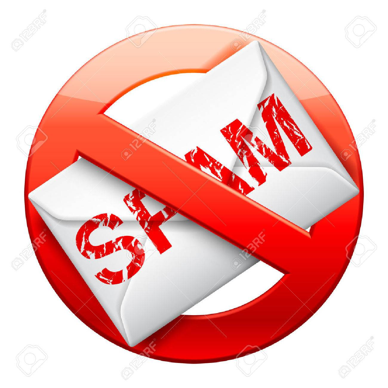 No Spam Sign. Royalty Free Cliparts, Vectors, And Stock ...