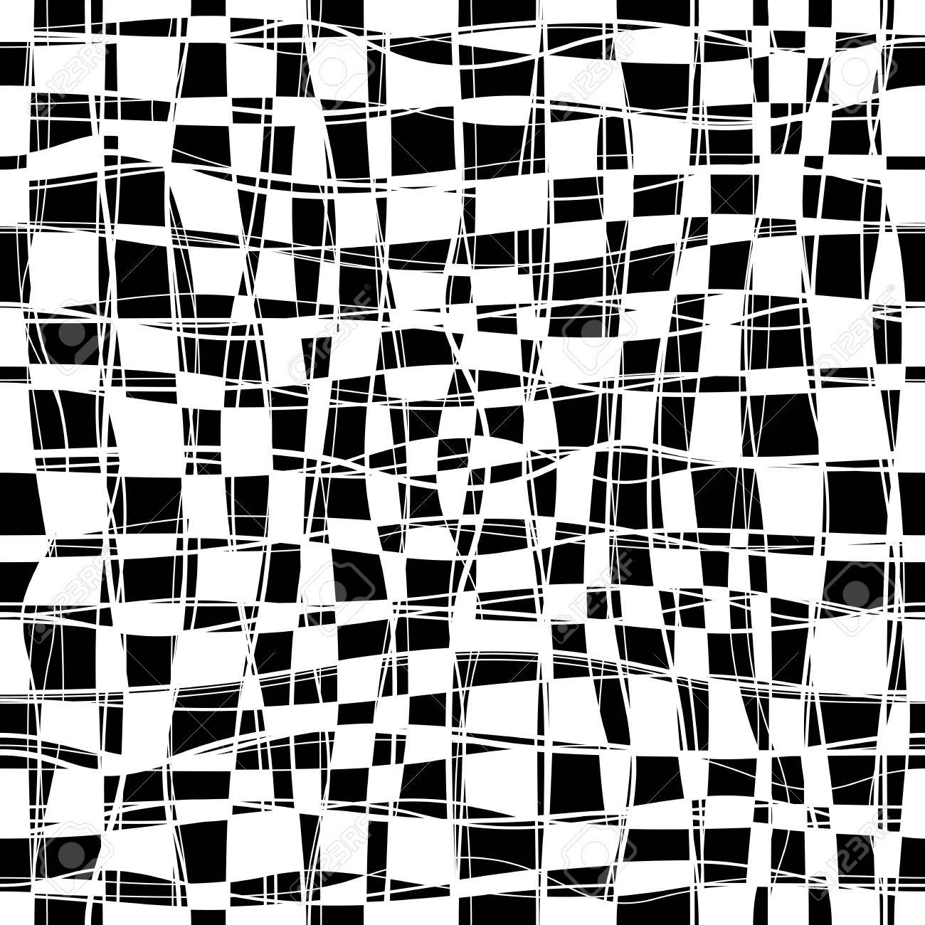 Seamless black and white checkered texture stock images image - Black And White Checker Chess Seamless Pattern Stock Vector 39306883