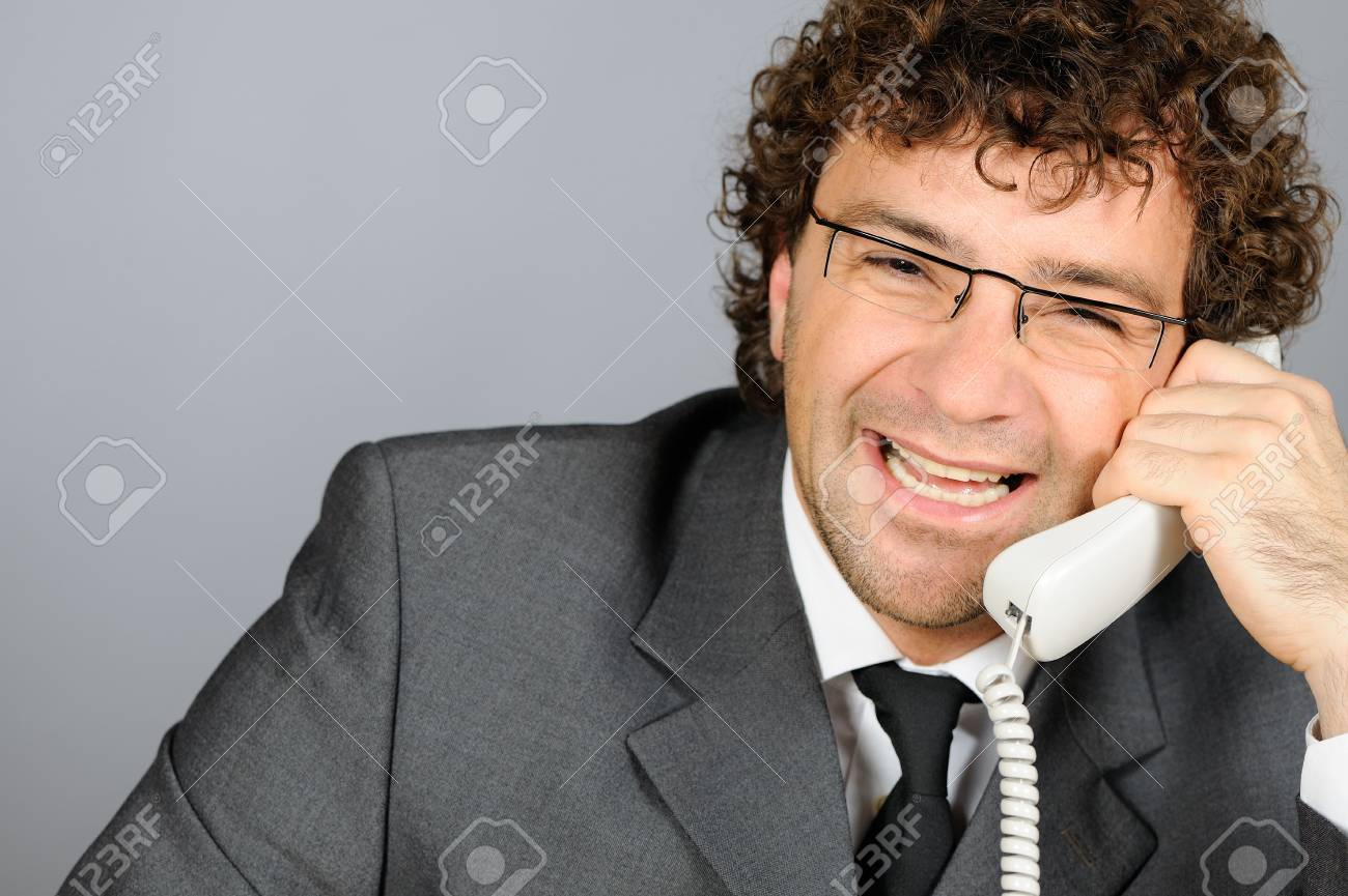 Smiling businessman Stock Photo - 4168283