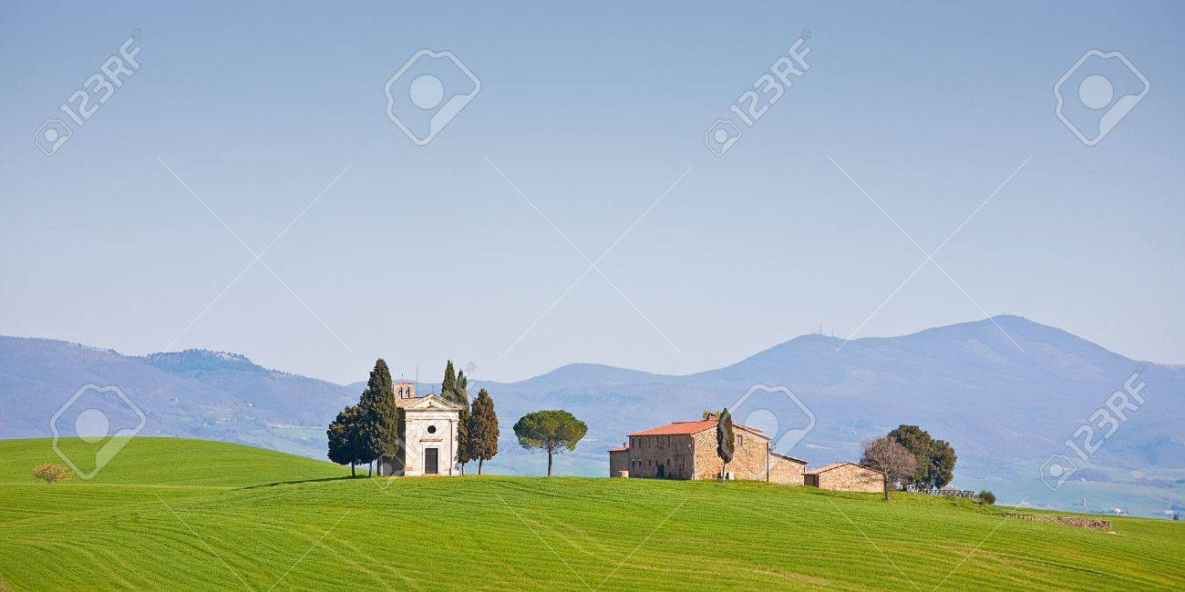 One of the most famous photo motive in Tuscany - 9016187