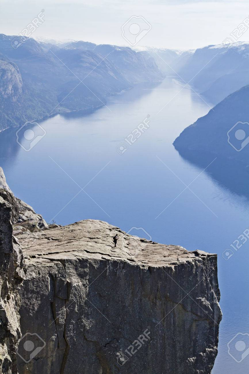 Preikestolen - most popular and busiest hike in Norway and Scandinavia a must for every traveler - 29747692