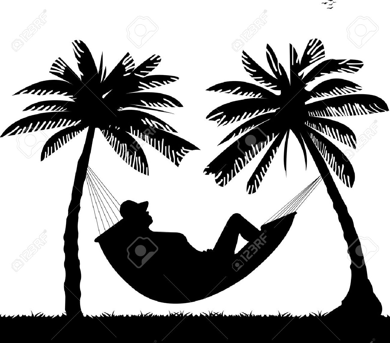 1,798 Hammock Cliparts, Stock Vector And Royalty Free Hammock ...