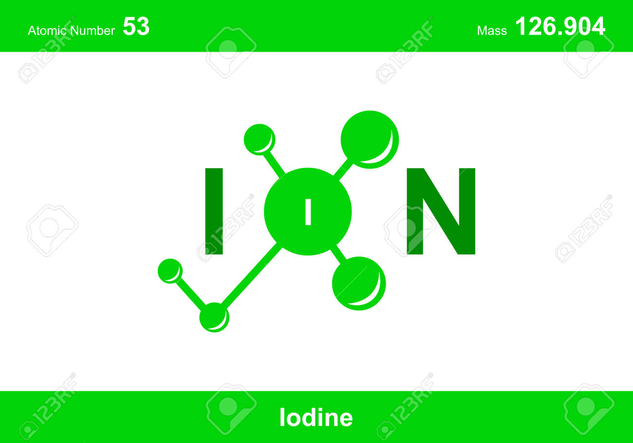 """modern logo design for the word """"ion"""". Ions belong to the periodic system of atoms. There are ionic pathways, ionic bonds. - 170918547"""