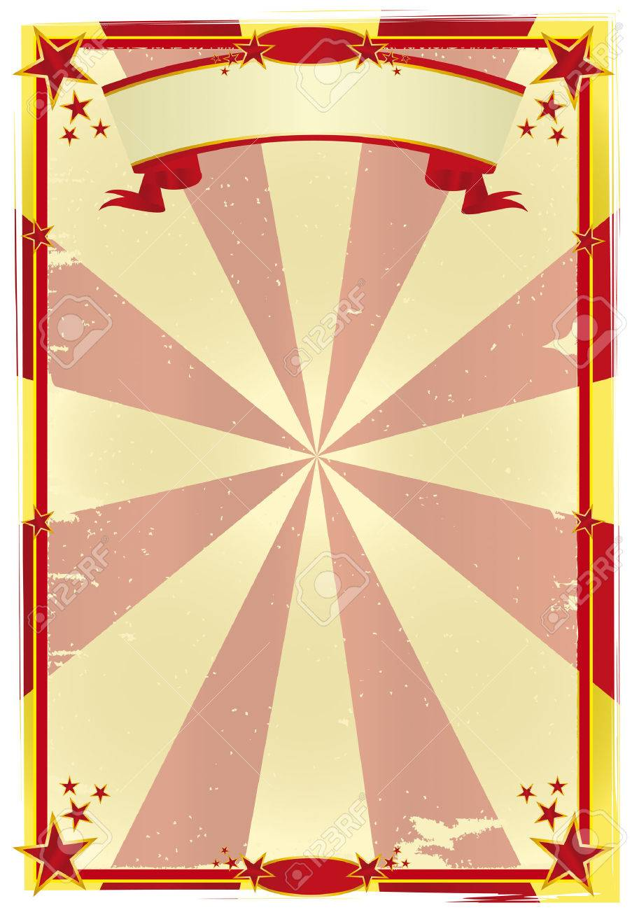 A Used Circus Poster For Your Show Royalty Free Cliparts, Vectors ...