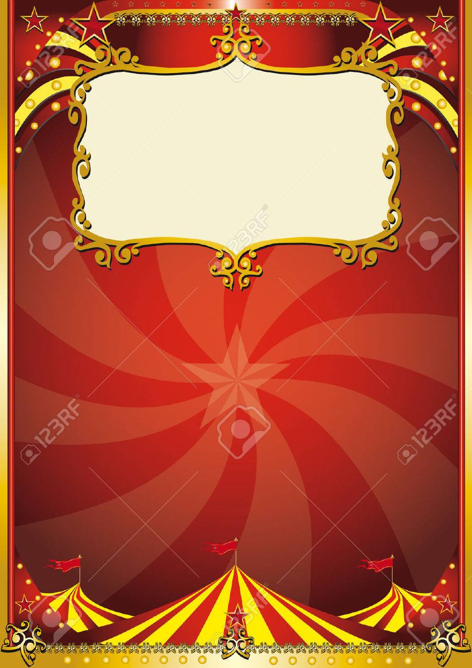A new circus background with a big top for a poster. read your message ! Stock Vector - 5327733