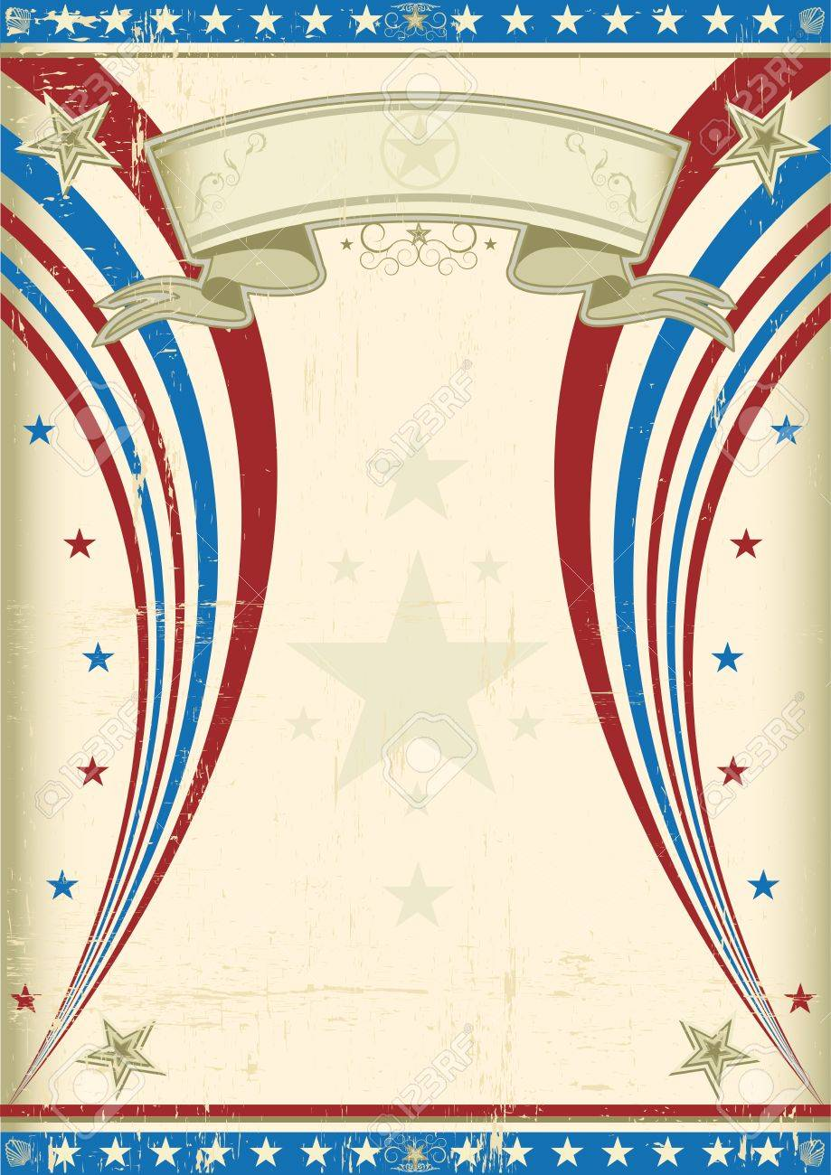 A vintage US background for your advertising Stock Vector - 11410271