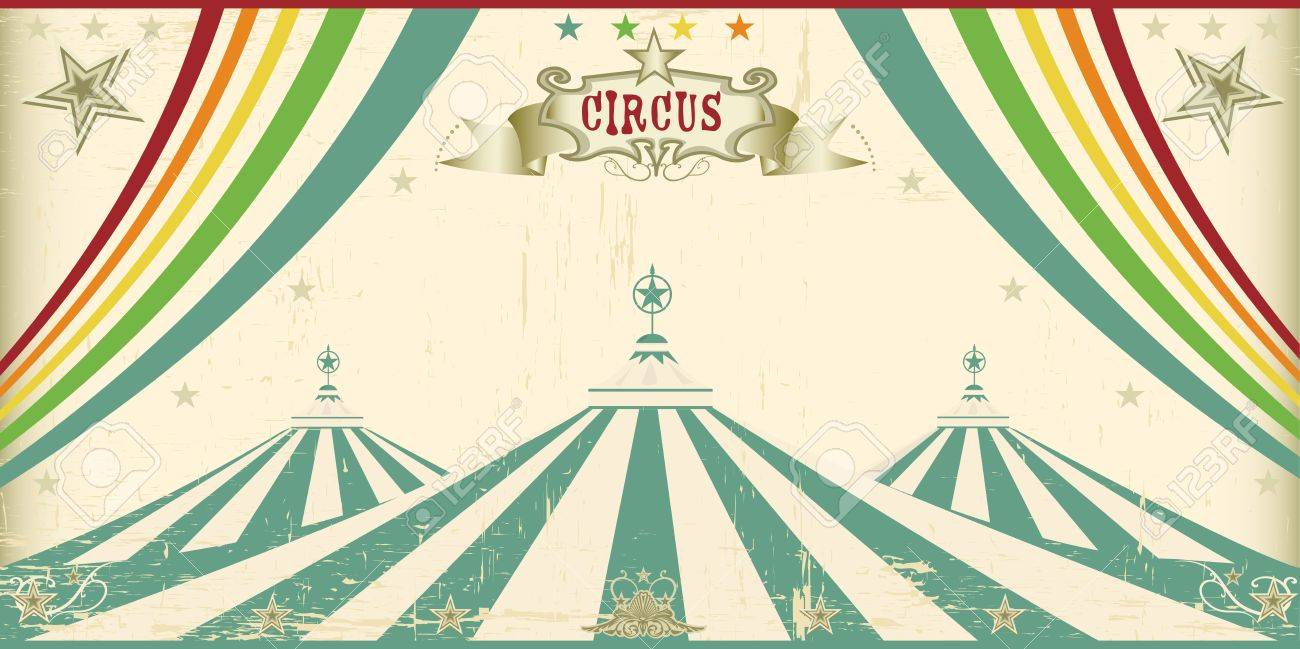 An invitation card for your circus company Stock Vector - 17389032