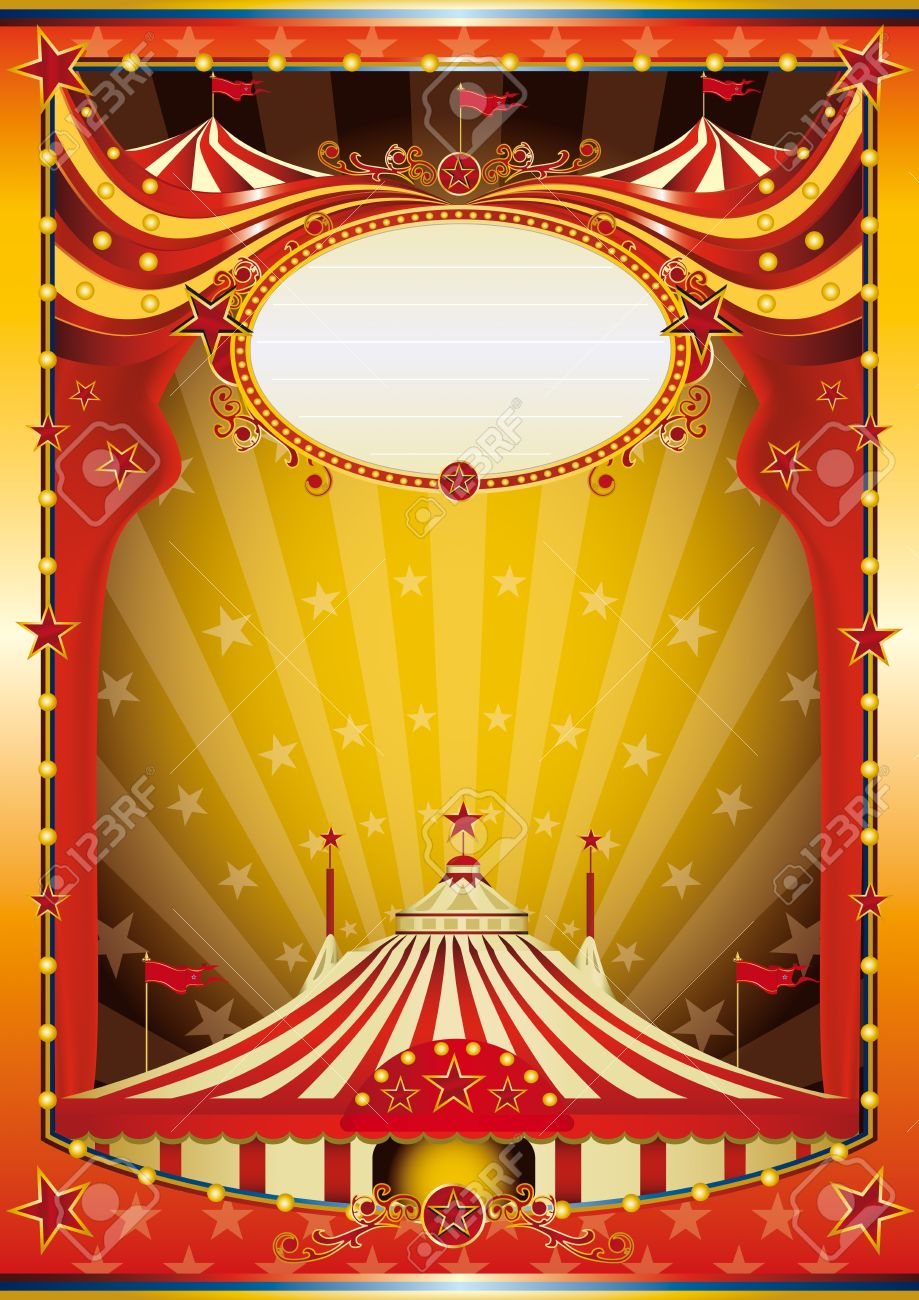 Color circus with big top for your show Stock Vector - 20272388