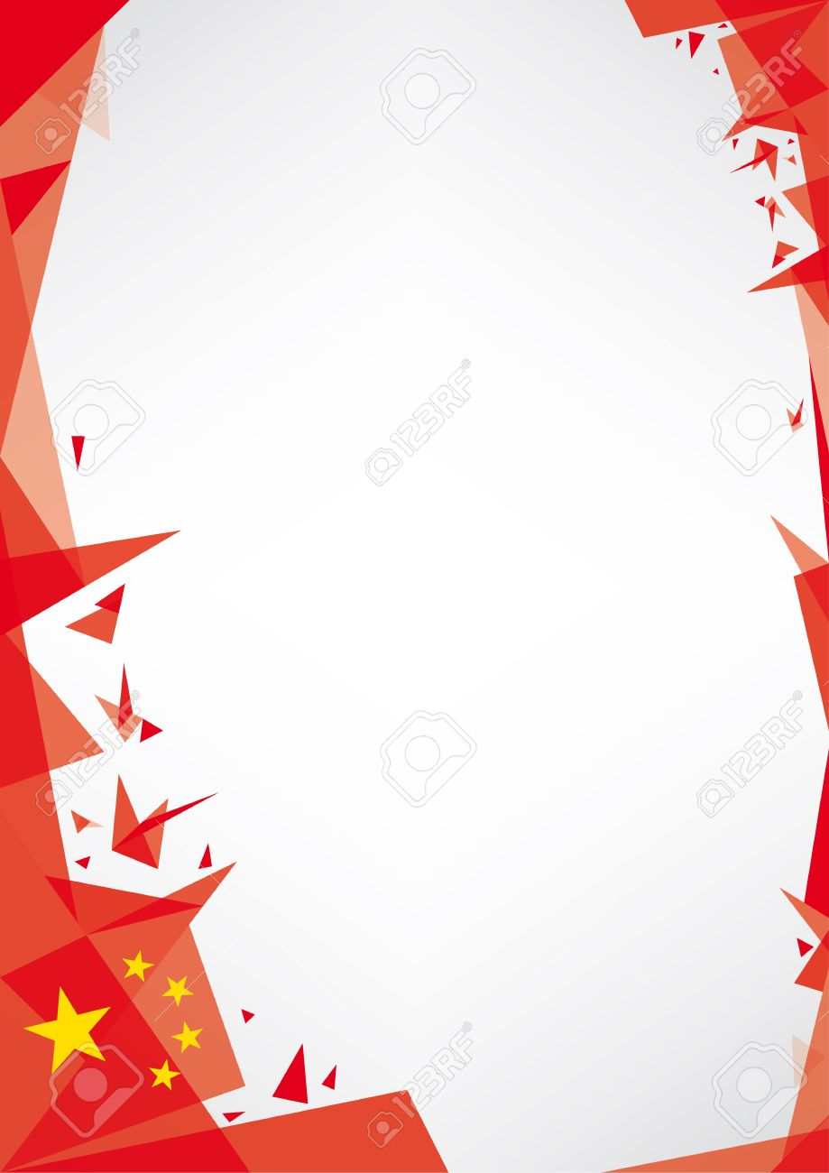 a design background  Origami style  for a very nice poster of china Stock Vector - 22174743