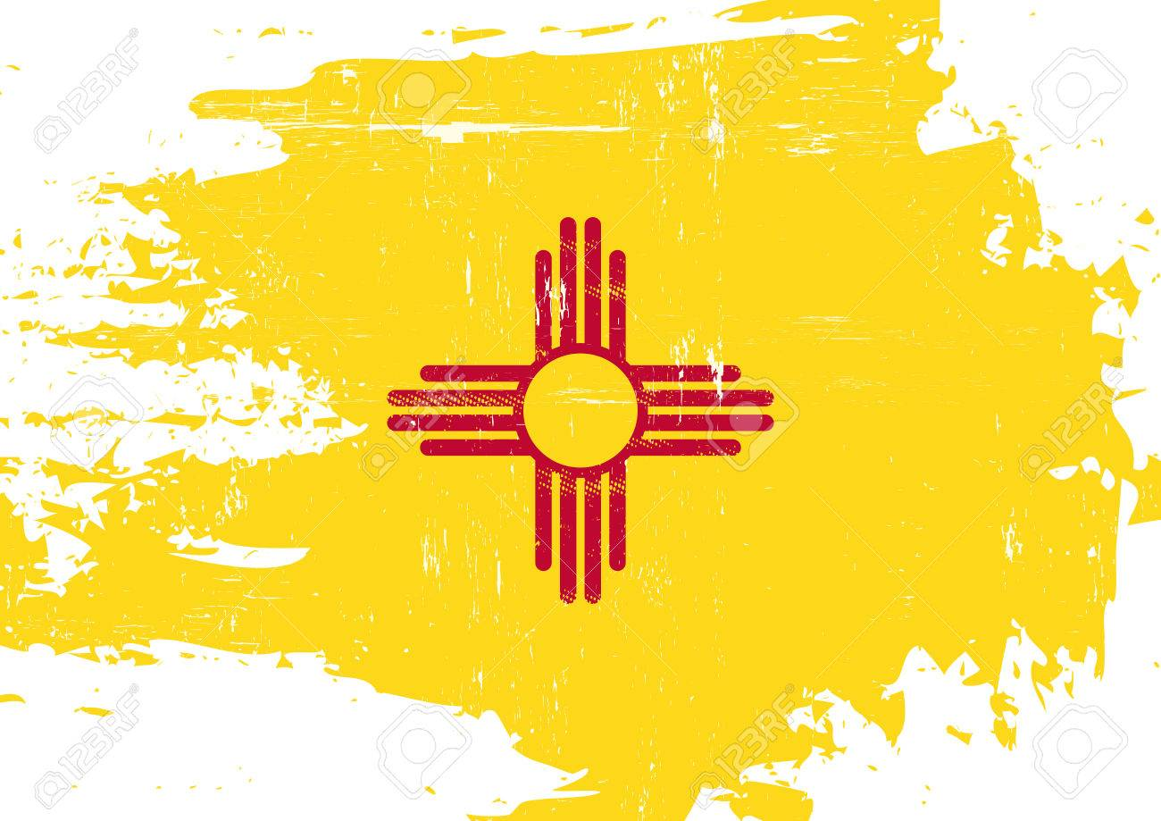 a flag of new mexico with a grunge texture royalty free cliparts rh 123rf com grunge texture vector ai grunge texture vector photoshop