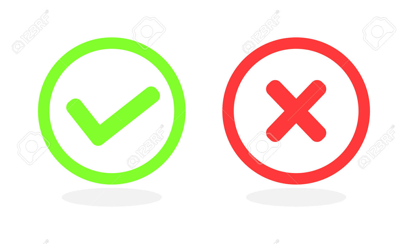 Checkmark icon for web and app. Vector illustration. - 169706735