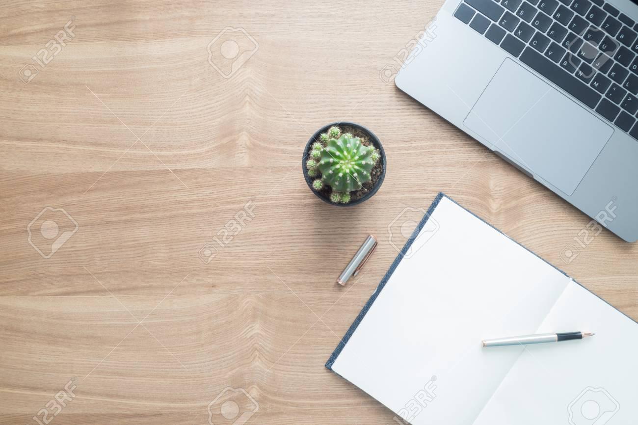 Minimal work space - Creative flat lay photo of workspace desk