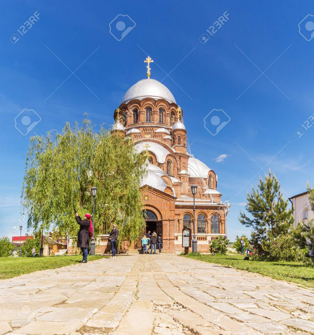 Cathedral in the name of the Icon of the Mother of God of All Who Mourn Joy in Sviyazhsk, Tatarstan - 142402836